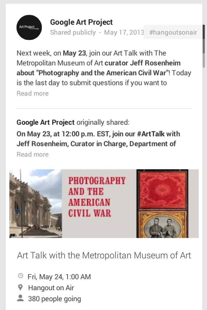 디지털 역사의 저장고, Google Cultural Institute_Image 5